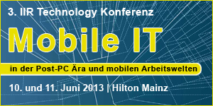 IIR-Konferenz Mobile IT