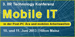 IIR-Konferenz Mobile IT