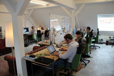 Das Berliner Startup waymate bei der Arbeit