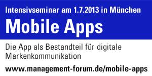 Intensivseminar Mobile Apps
