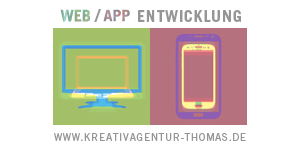Web/App Entwicklung Kreativagentur Thomas
