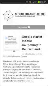 mobilbranche.de-Relaunch