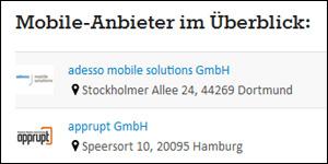 mobile-anbieterverzeichnis