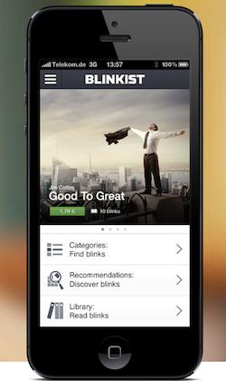Blinkist - Startup Short-Term Content