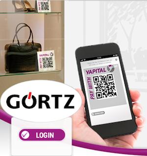 Görtz startet mit Yapital Mobile Payment
