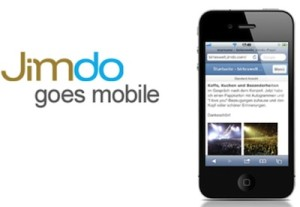 Jimdo goes Mobile