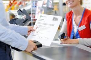 Online kaufen, im real,- Markt bezahlen / real,- kooperiert mit dem Zahlungsdienstleister barzahlen.de