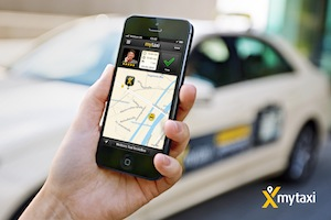 mytaxi macht Taxifahrer zu Kurieren für Media Markt