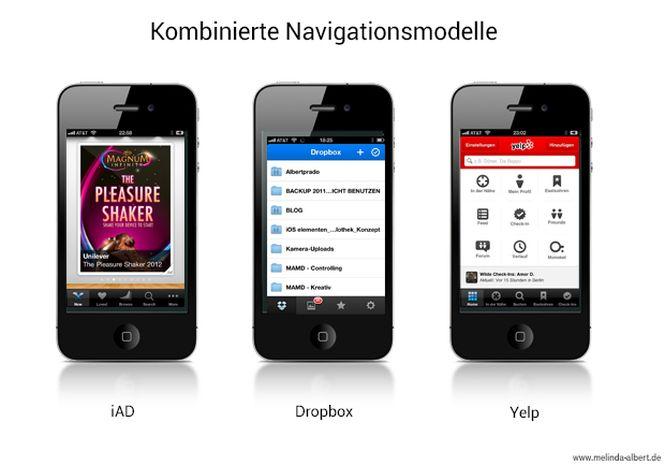 6 - iPhone-navigationsmodelle-kombinationen