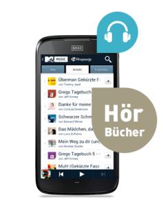 Hörbuch-Streaming per Smartphone ist der neue Trend