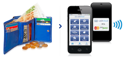 cashcloud startet Mobile Payment via NFC-Sticker