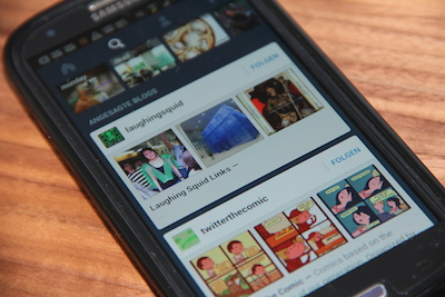 Tumblr bietet jetzt Sponsored Trending Blogs in seinen Apps an