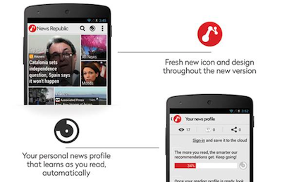 News Republic launcht neue App