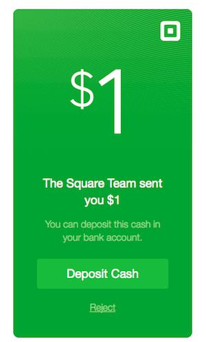 Square Cash erweitert seinen Dienst um E-Mail-Inkasso