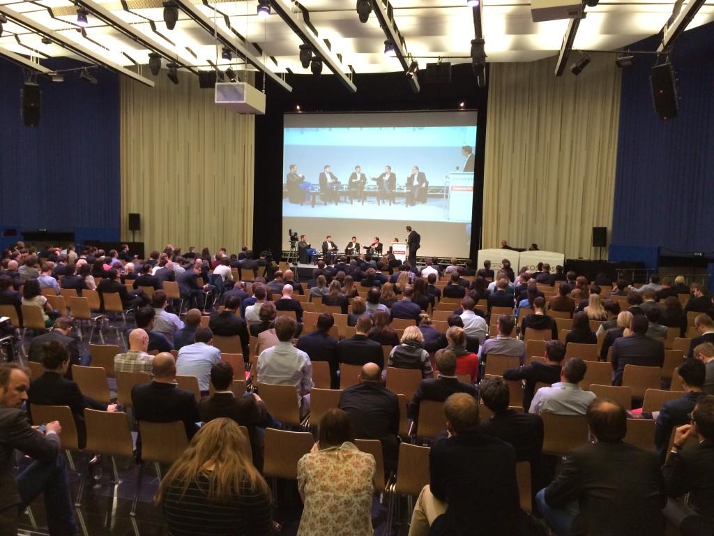 gut gefüllte Reihen auf der Adtrader Conference 2014 in Berlin