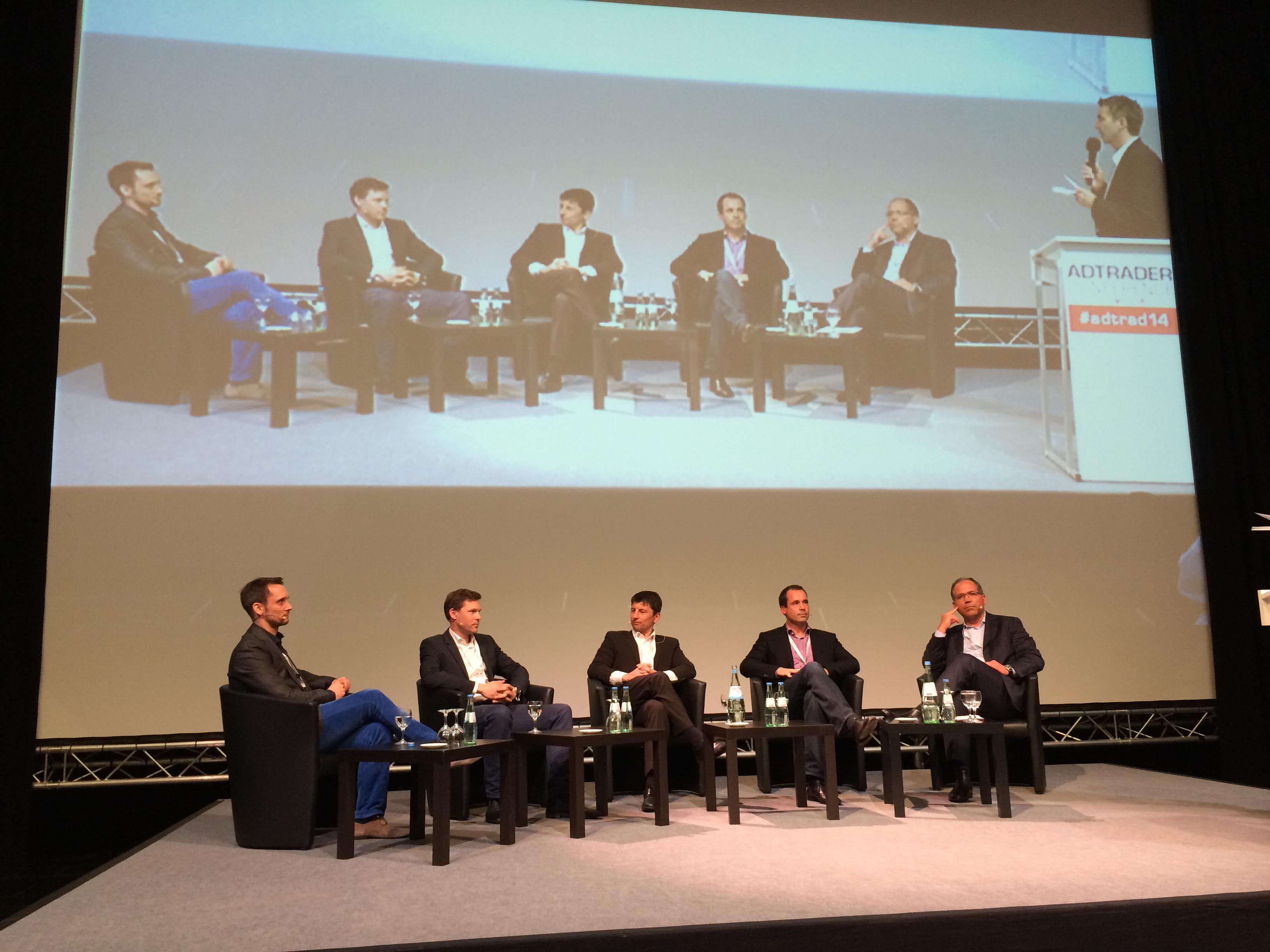 Eine von zahlreichen Paneldiskussionen auf der Adtrader Conference 2014