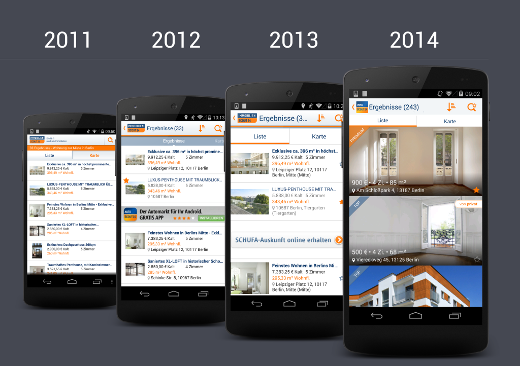 Die Entwicklung der ImmobilienScout24-Android App