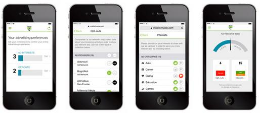 Truste startet App zur Verwaltung mobiler Werbung