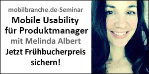 Mobile Usability Melinda Albert-Seminar