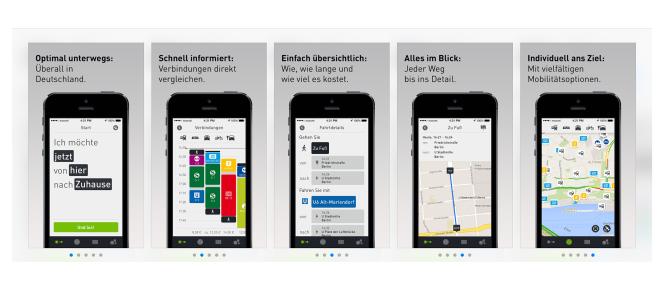 Grenzwertiges App-Screenshot Design bei Moovel