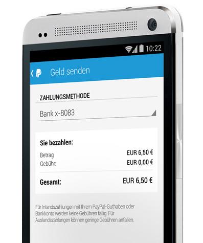 PayPal lässt jetzt Geld per App an Freunde senden