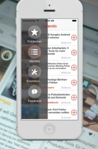 narando will Vorlese-App starten