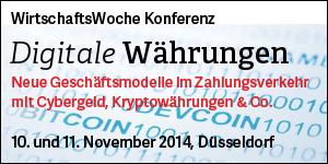 WirtschaftsWoche Konferenz Digitale Währungen