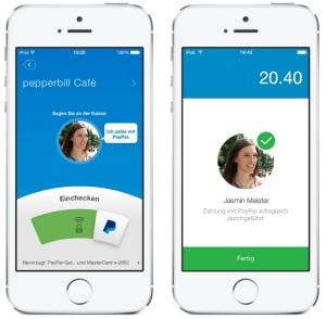 pepperbill integriert PayPal in Kassensystem