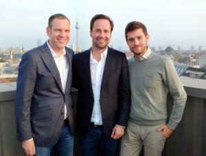 Foto (v. l. n. r.): Andreas Prasse, Tom Laband und Sebastian Doerfel