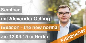 Seminar iBeacon mit Alexander Oelling