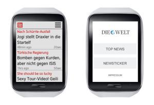 Springer Apps für Smwartwatch