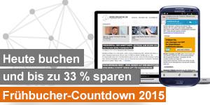 mobilbranche-werbeanzeige frühbucher countdown