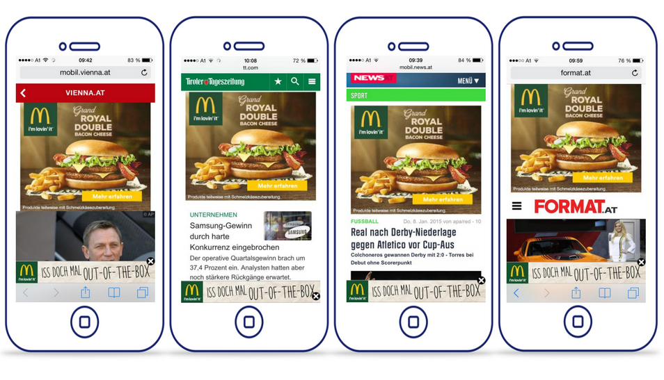 Ad of the Week: Mobile Takeover YOC & McDonalds