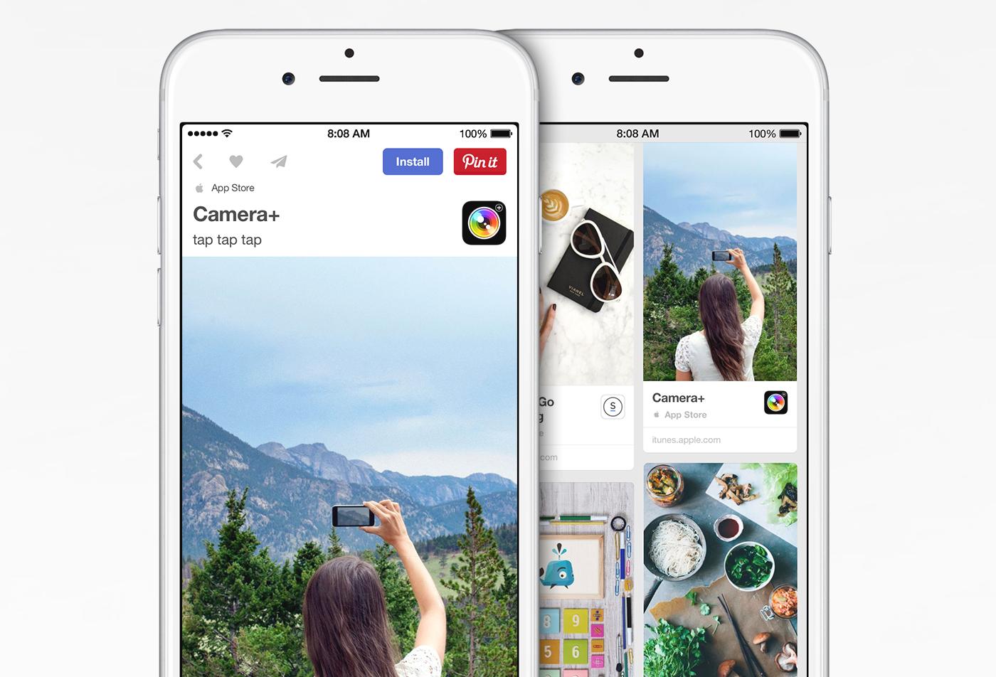 App Pins Pinterest wird zum App Store. – mobilbranche.de