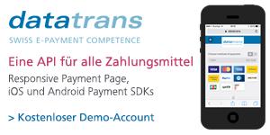 Datatrans API für alle Zahlungsmittel
