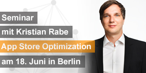 Seminar ASO & Mobile SEO mit Kristian Rabe