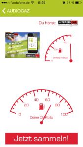 AudioGaz-App im Einsatz