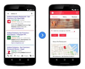 Google durchsucht ab sofort auch iPhone-Apps.