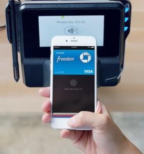 Apple Pay im Einsatz