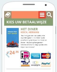 iDEAL: Der Bezahldienst niederländischer Banken.