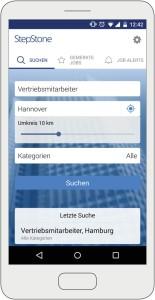 Bewerben per Klick - jederzeit und überall / StepStone macht die Bewerbung per Smartphone möglich