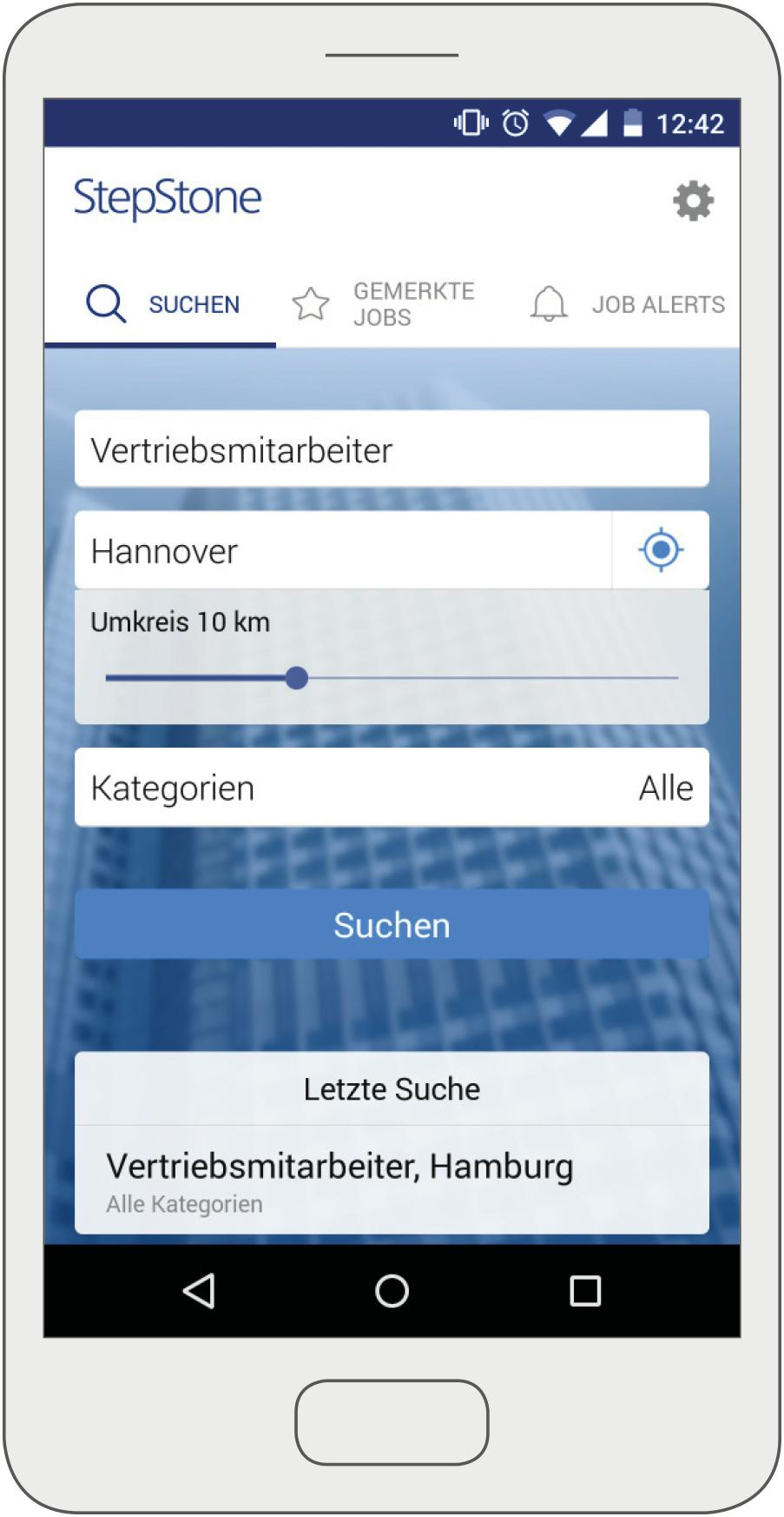 Stepstone Startet App Für Smartphone Bewerbungen