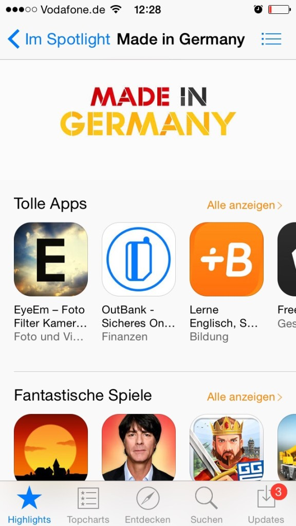 Apps Made in Germany