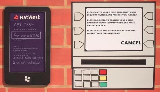 NatWest: Das Smartphone als Ersatz für die Bankkarte.