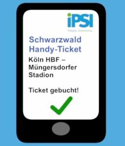 IPSI Mobile Ticketing eTicket