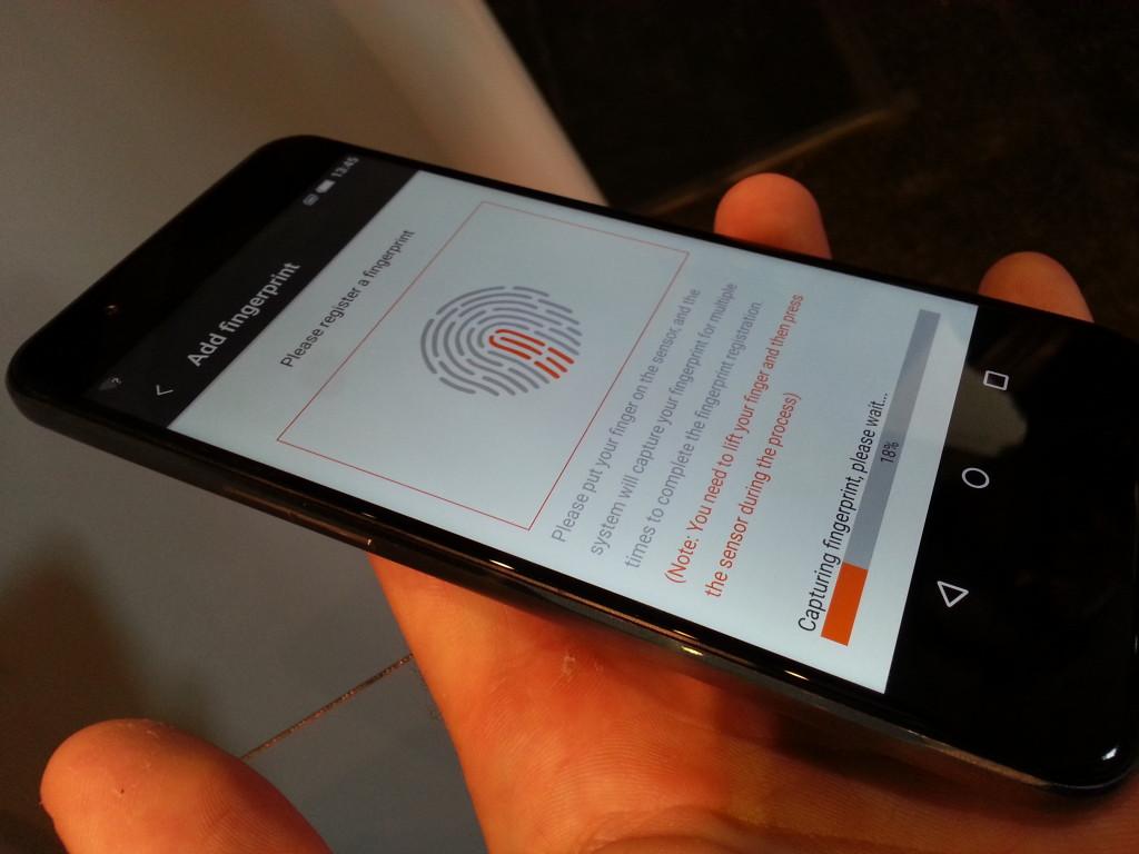 Gigaset-Fingerprint