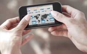 Symbolbild zeigt SAP BusinessObjects Mobile App.