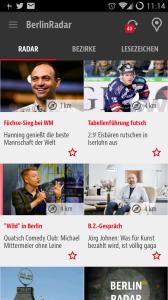 Springer-App BerlinRadar