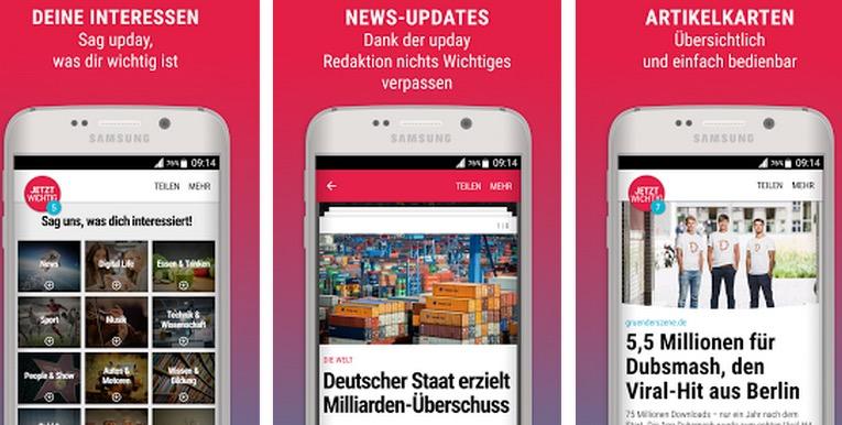 Springer & Samsung starten Upday