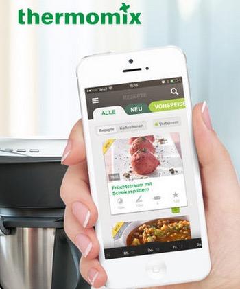 Thermomix macht auch auf dem iPhone ein gutes Geschäft.